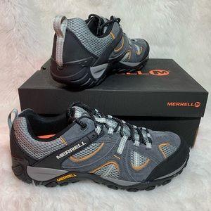 Merrell Men's Size 10, 14 Trail Hiking Shoe Grey